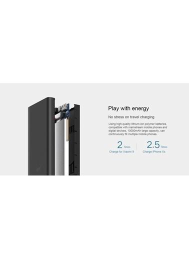 Xiaomi 10000 Mah (Versiyon 3) Taşınabilir Şarj Cihazı Siyah Siyah